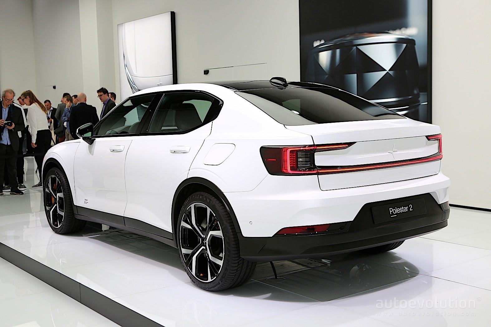 2020 Polestar 2 Shows Up In Geneva As Tesla Model 3