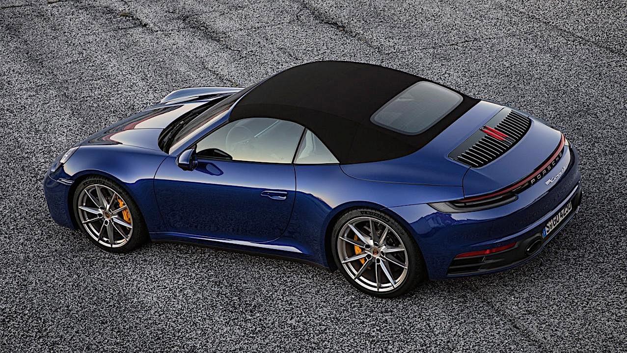 2020 Porsche 911 Cabriolet Revealed Weeks After Coupe