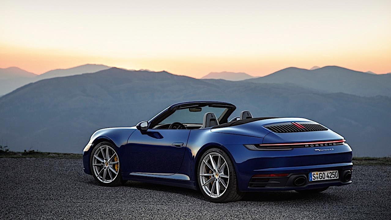 2020 porsche 911 cabriolet revealed weeks after coupe. Black Bedroom Furniture Sets. Home Design Ideas