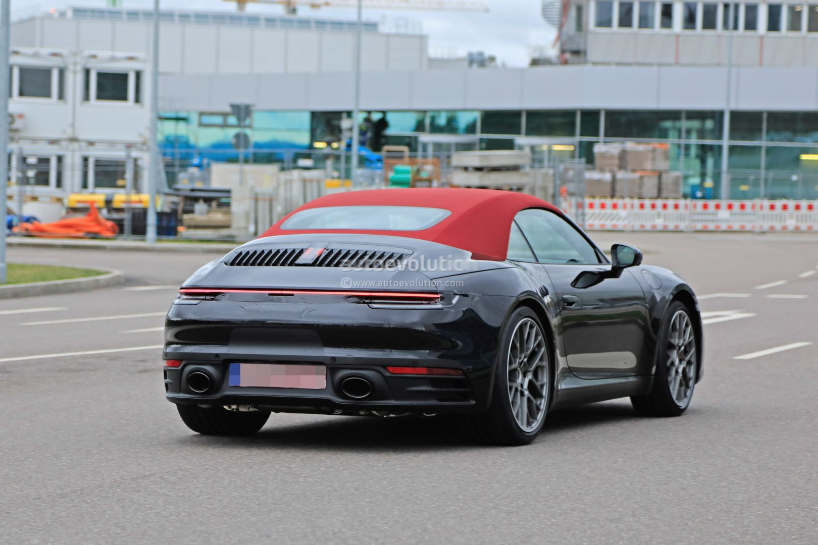 2020 Porsche 911 Cabriolet Shows New Roof Gt3 Cabriolet