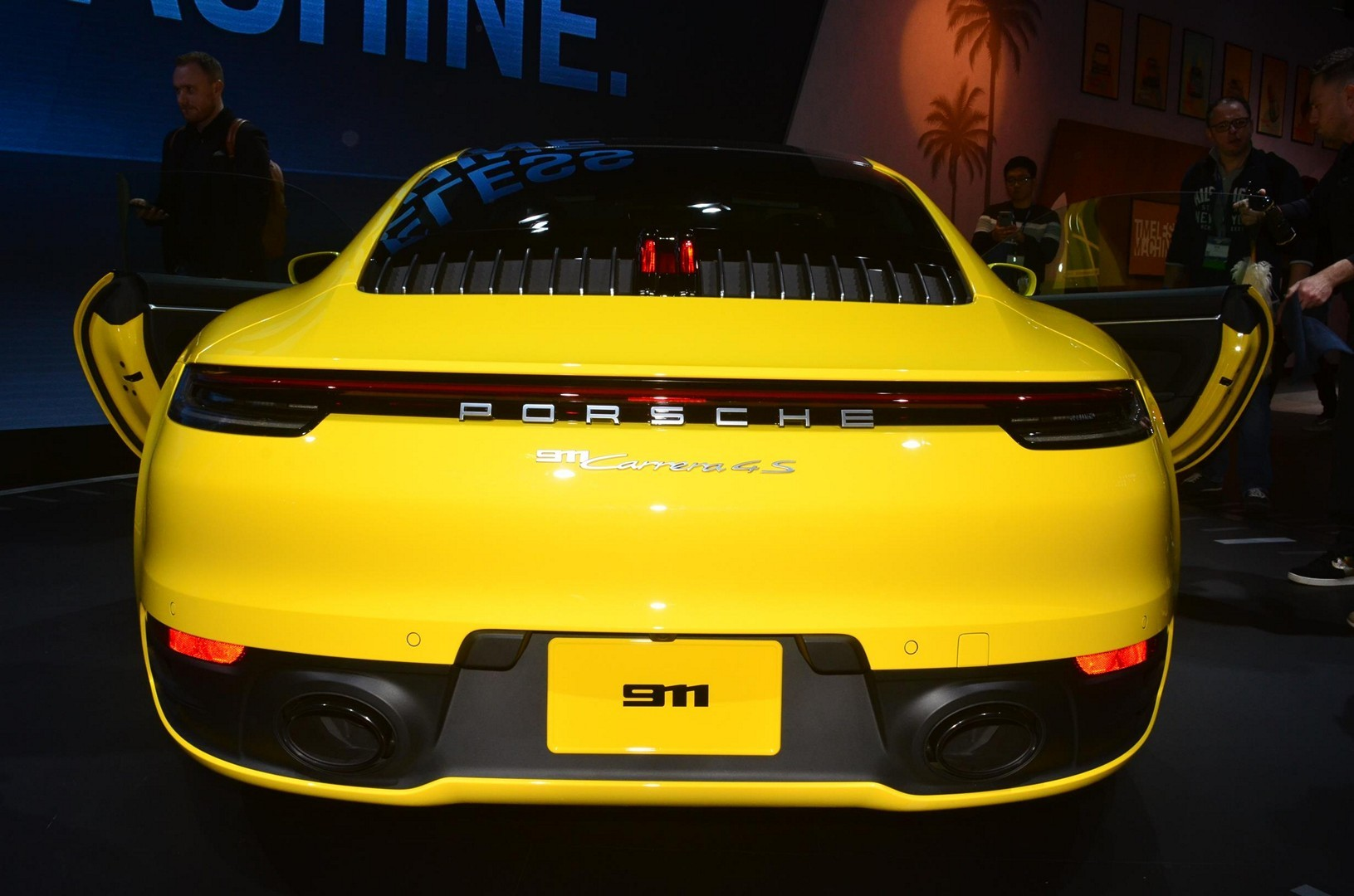 2020 Porsche 911 Carrera 4s In The Flesh At The La Auto