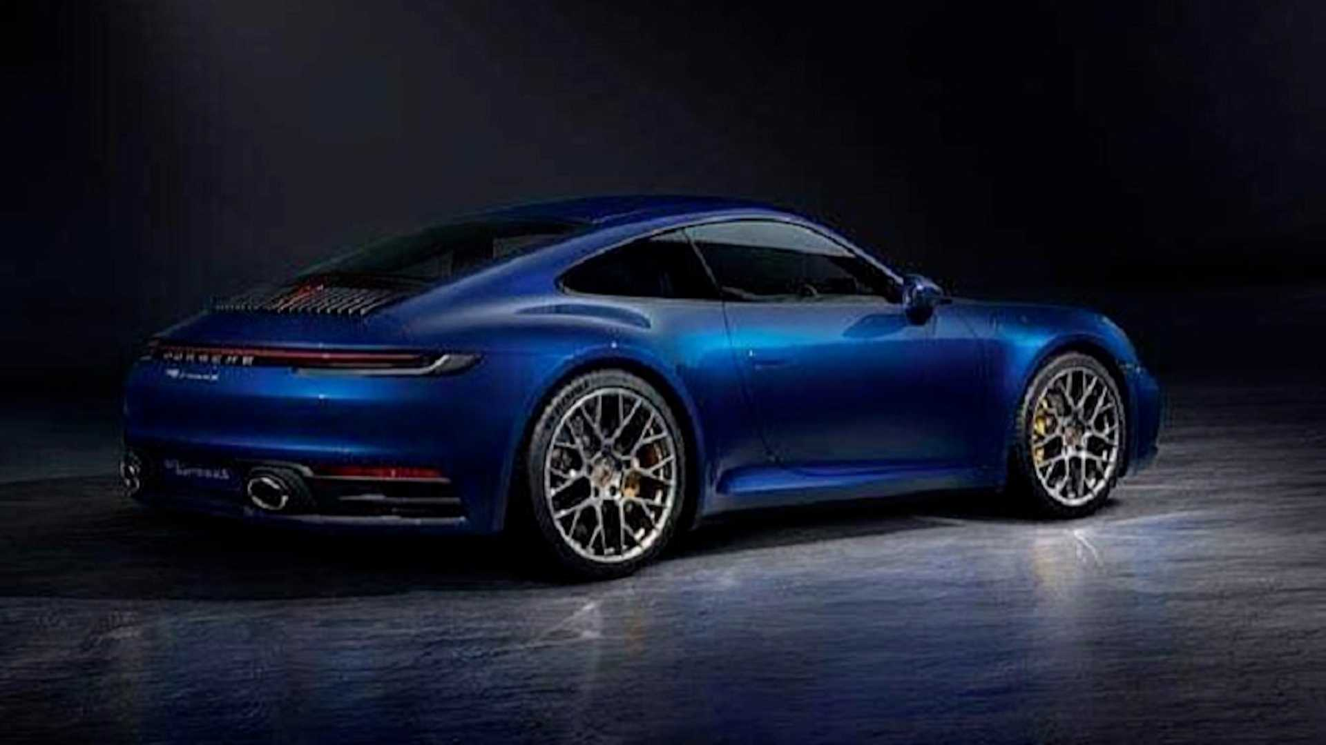 2020 Porsche 911 First Official Photos Leaked Autoevolution