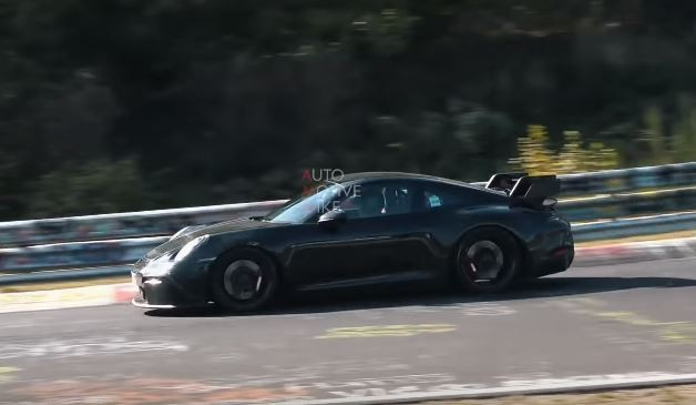 2020 Porsche 911 Gt3 Prototype Shows Manual Gearbox On Nurburgring