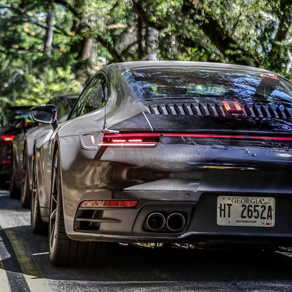 2020 Porsche 911 Interior Revealed In Mark Webber Test