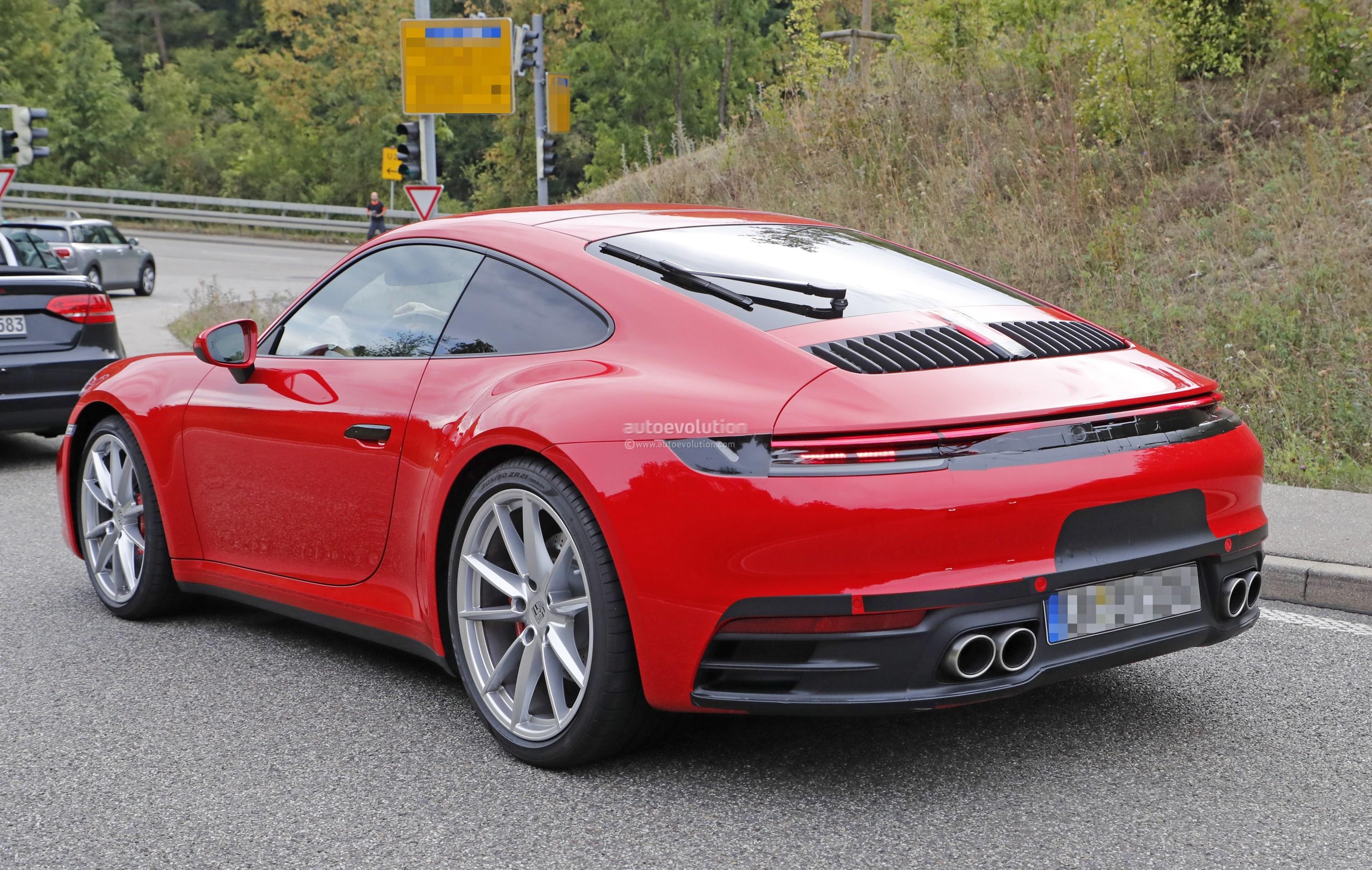 911 Targa 4S >> 2020 Porsche 911 Looks Like a Modern 993 - autoevolution