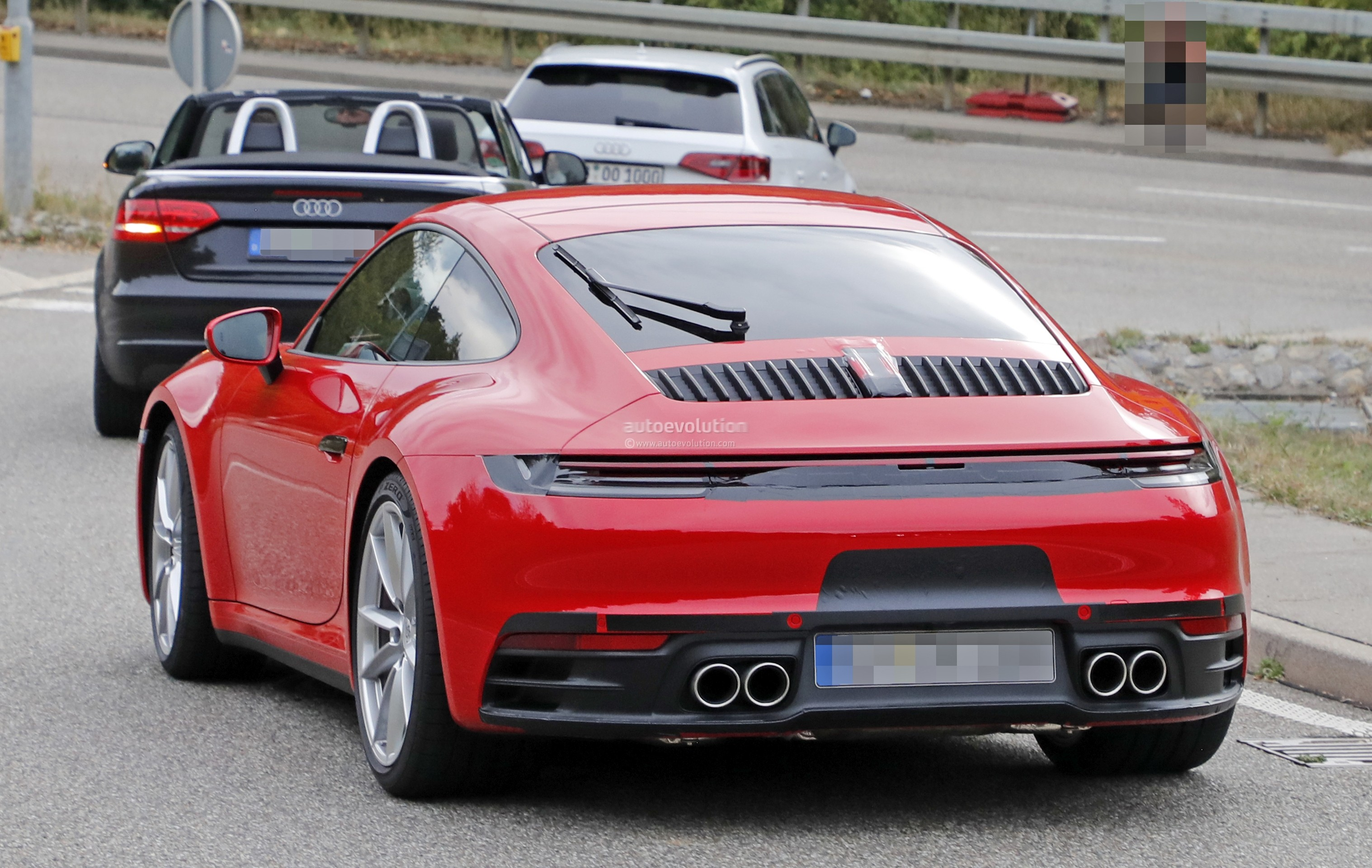 2019 Porsche 911 Revealed by Naked Nurburgring Prototype