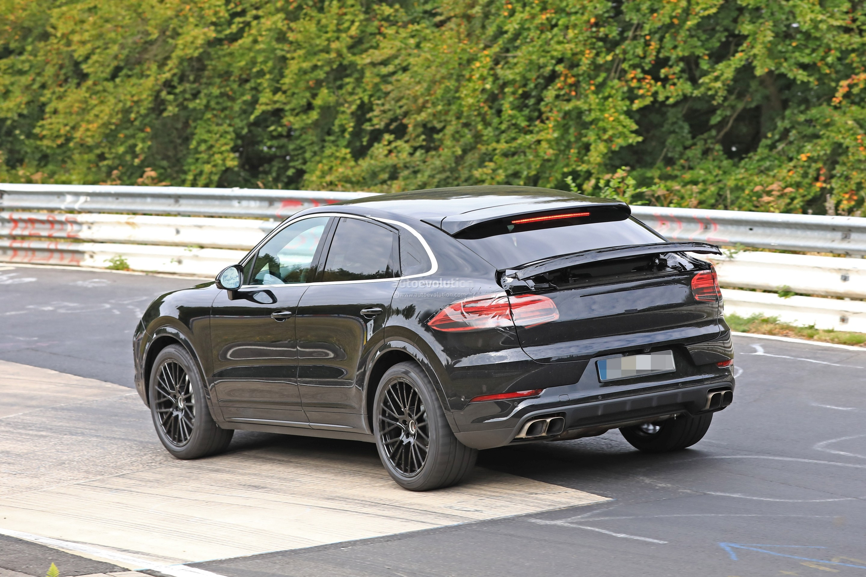 2020 Porsche Cayenne Coupe Hits Nurburgring Prototype Shows
