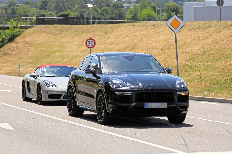 2020 Porsche Cayenne Coupe Turbo Prototype Reveals Svelte ...