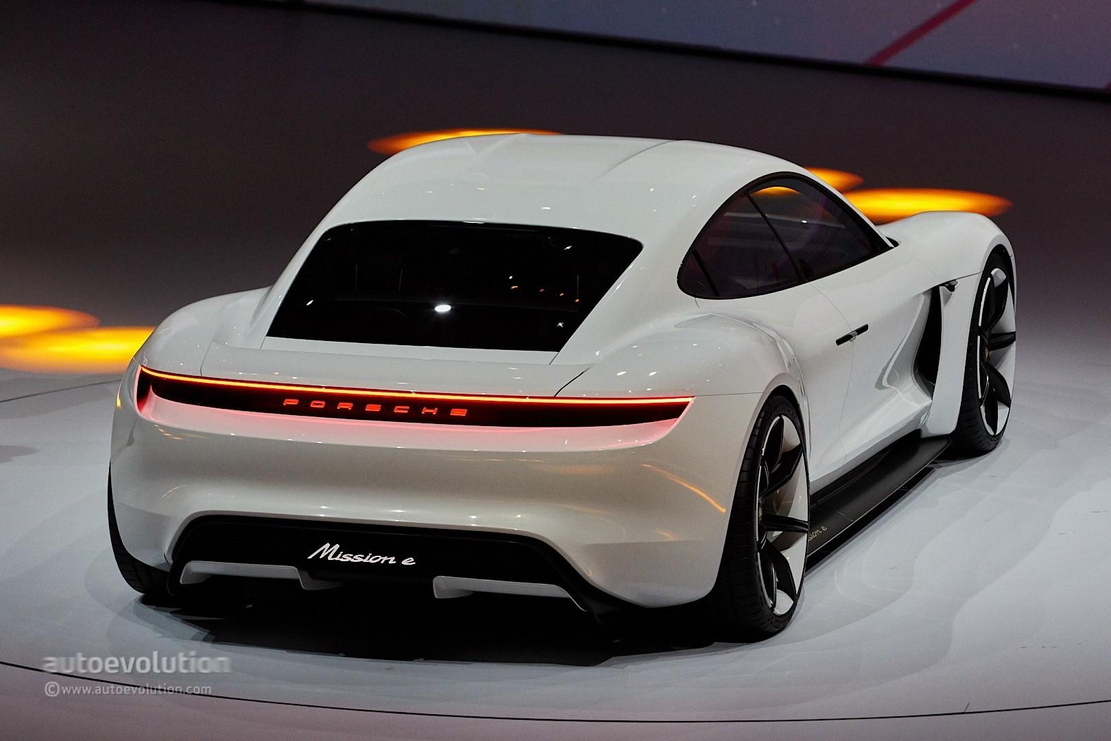 2020 Porsche Taycan Strolls In Mountain View California