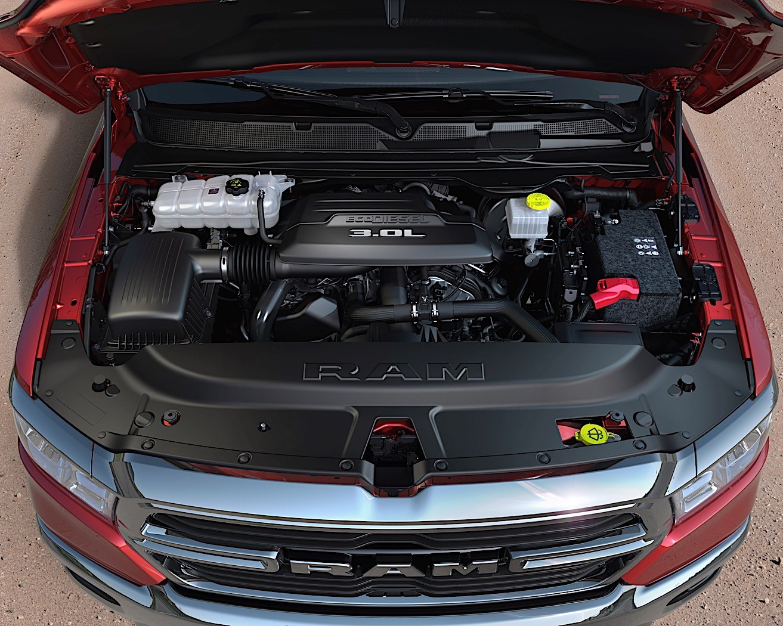 2020 Ram 1500 Rebel Gets EcoDiesel V6 Engine for the First ...