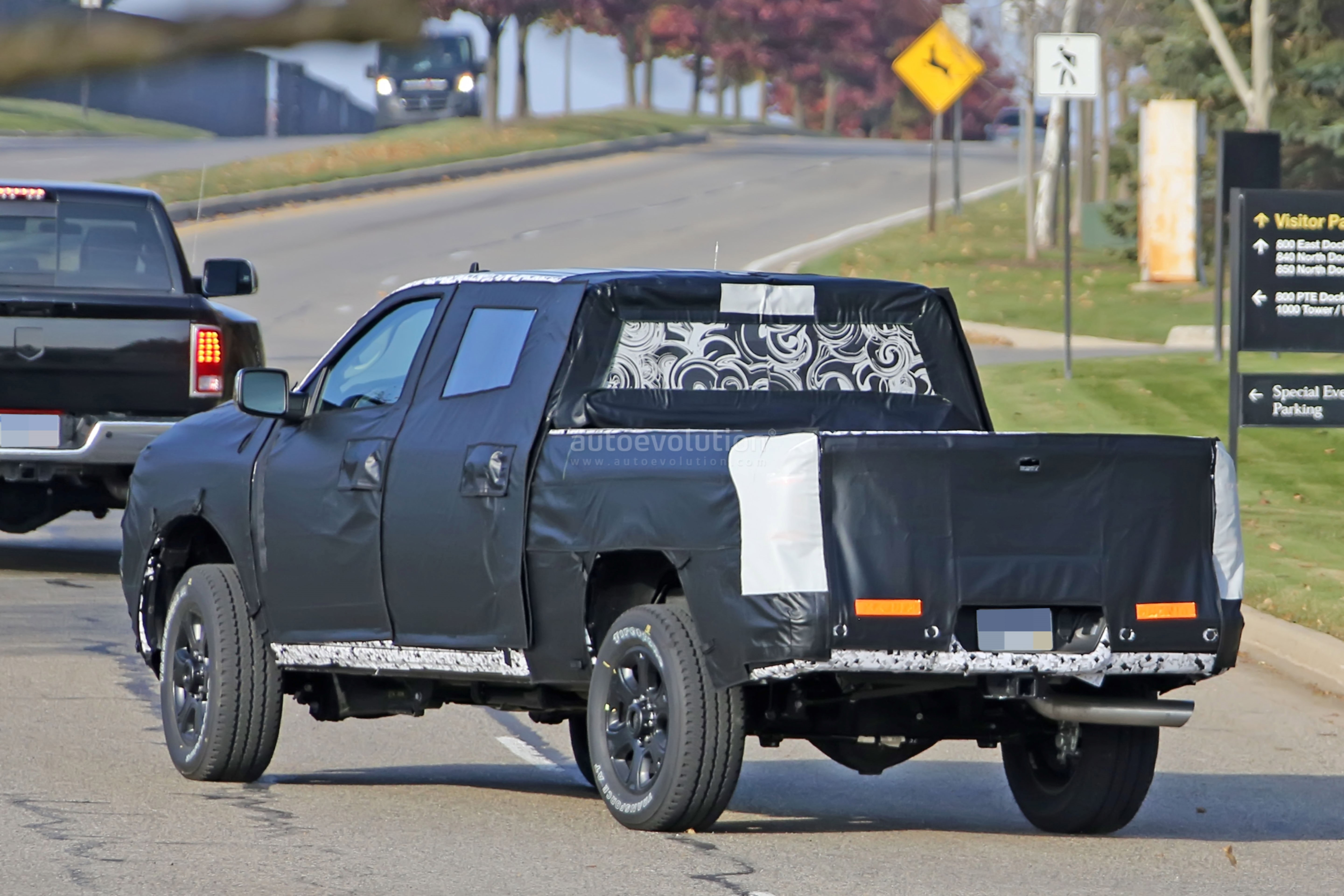 Spyshots: 2020 Ram HD Pickup Truck Says Cheese To The ...