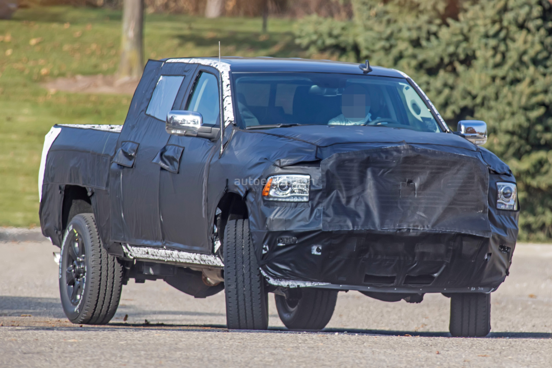 Spyshots: 2020 Ram HD Pickup Truck Says Cheese To The Camera - autoevolution