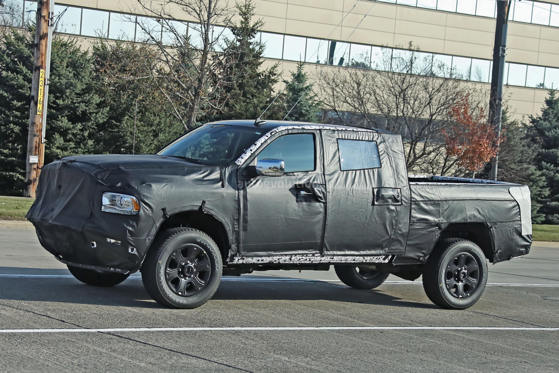 Spyshots: 2020 Ram HD Pickup Truck Says Cheese To The ...