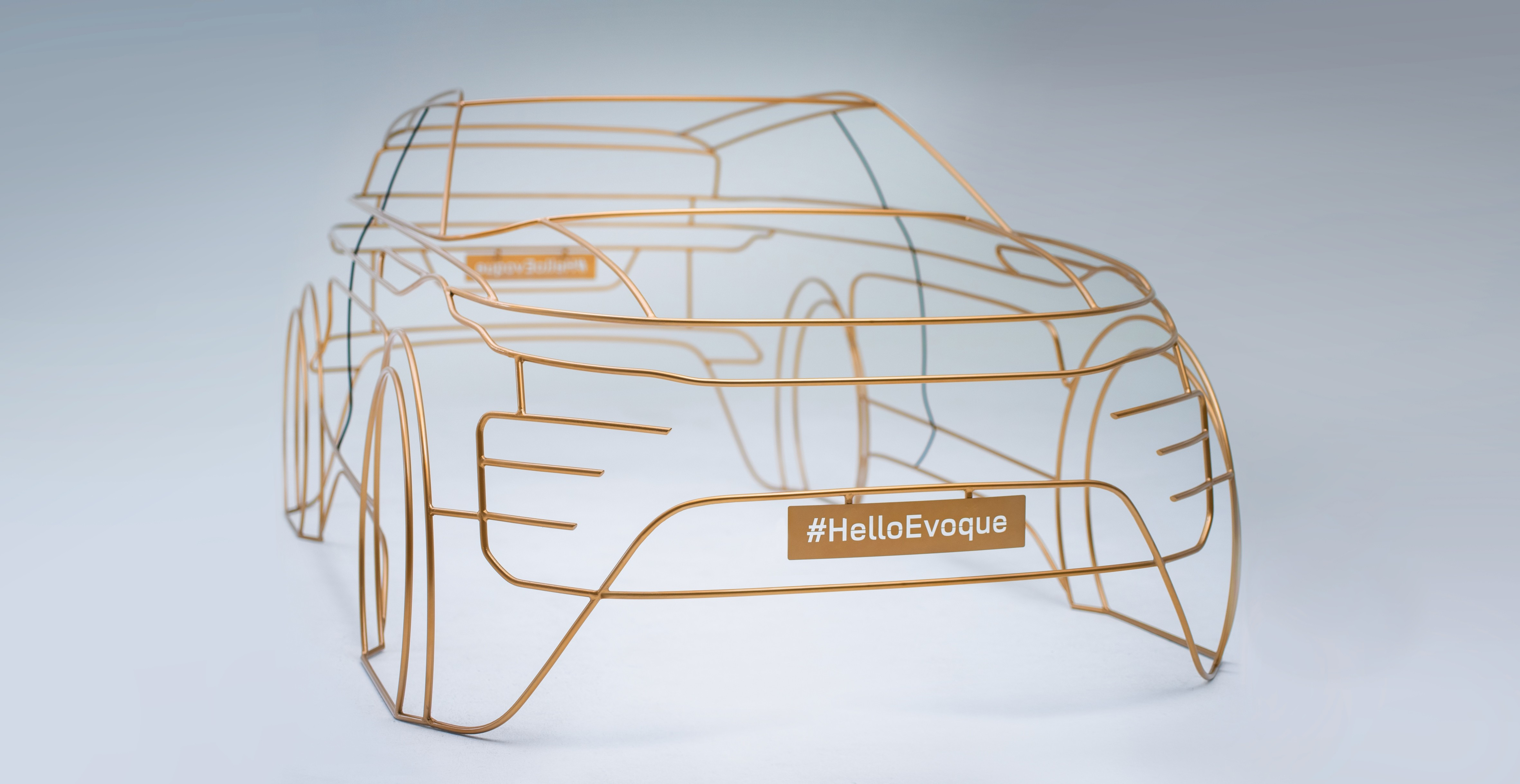 Range Rover Evoque teased