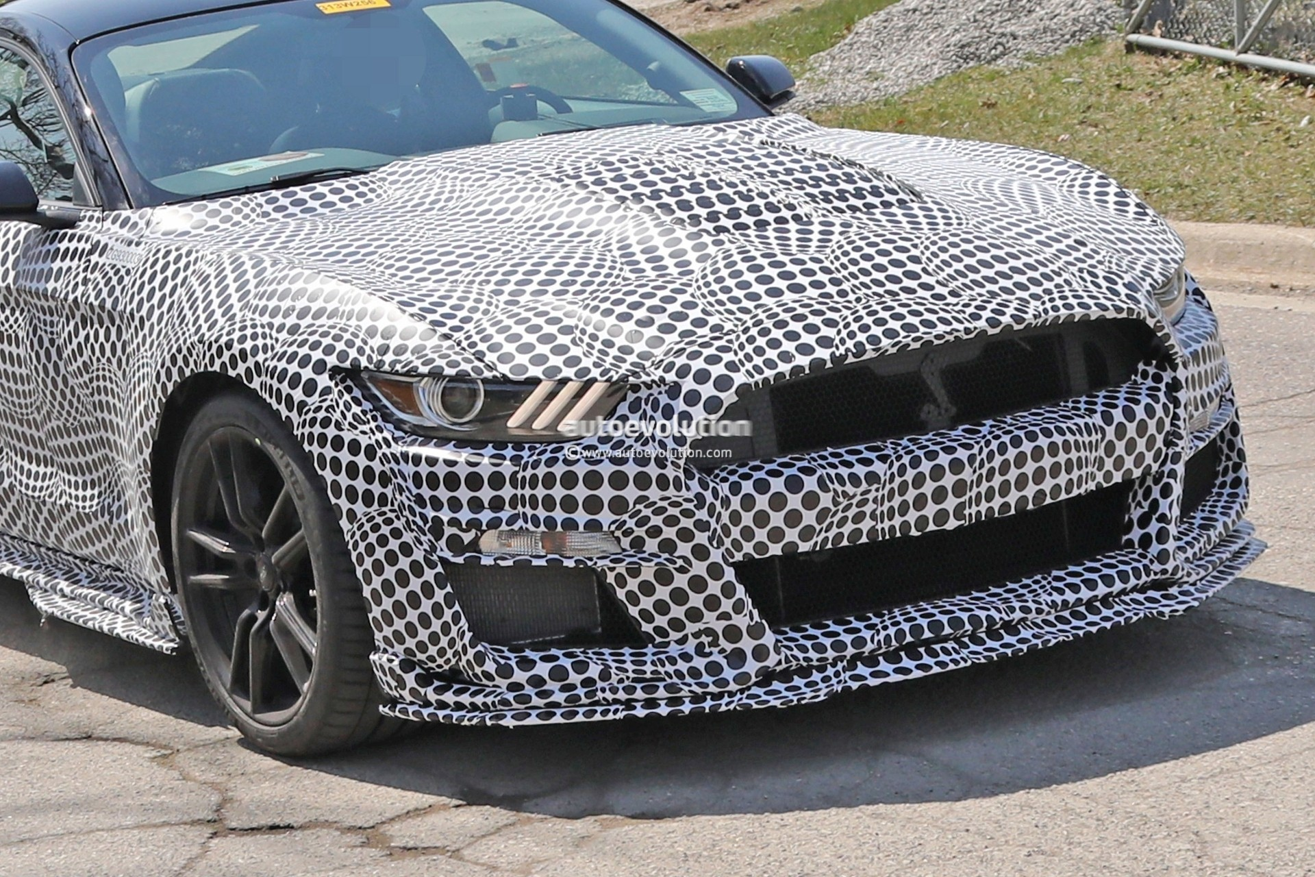 2020 Shelby GT500 Bird's-Eye Teaser Reveals the Obvious - autoevolution
