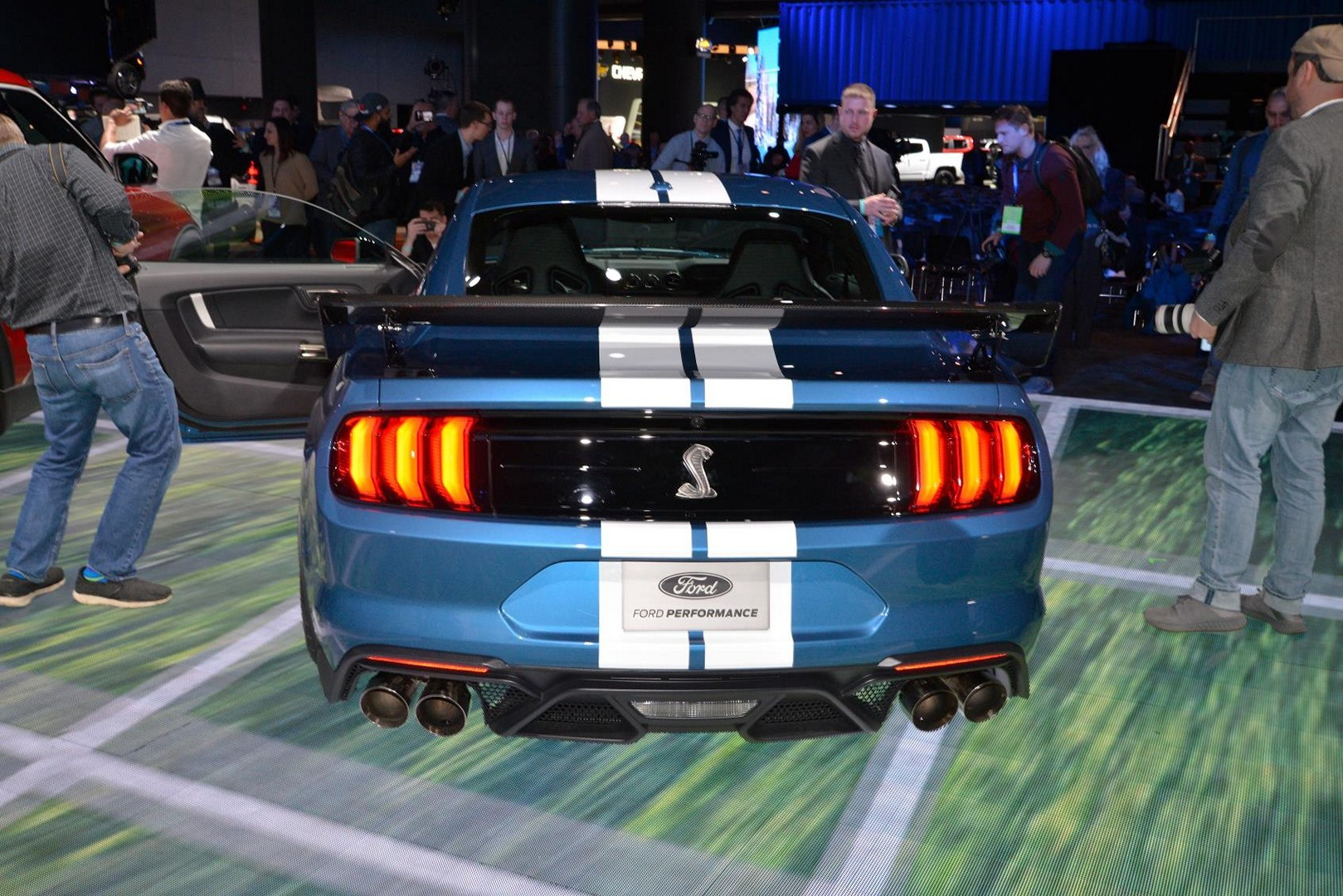 2020 Shelby GT500 VIN 001 Sells For $1.1 Million At ...