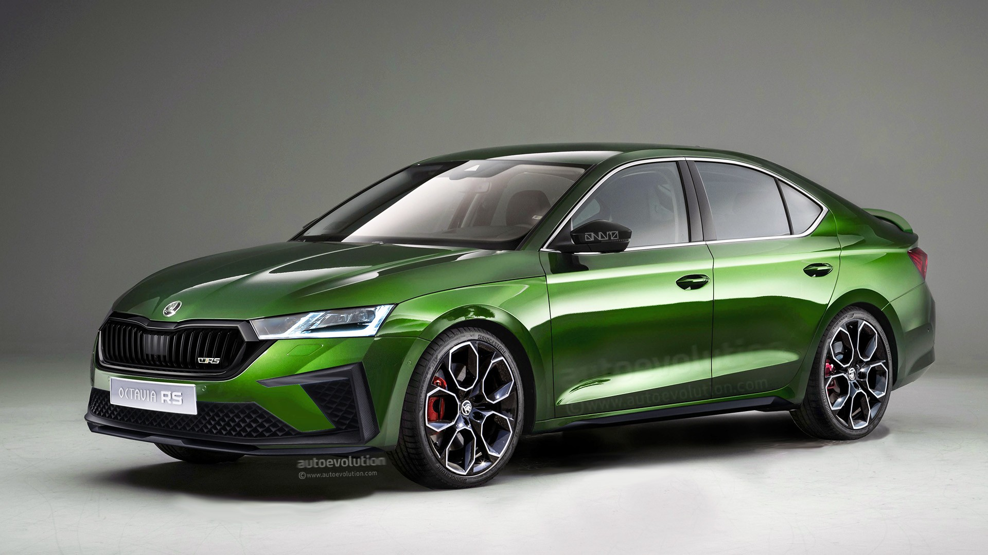 2020 Skoda Octavia Rs To Blend Performance And Practicality Will Look Like This Autoevolution