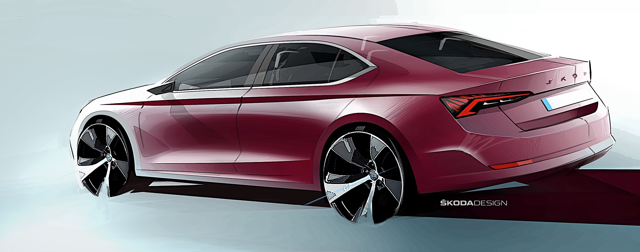 2020 Skoda Octavia Shows Up In First Official Sketches Debut Imminent Autoevolution