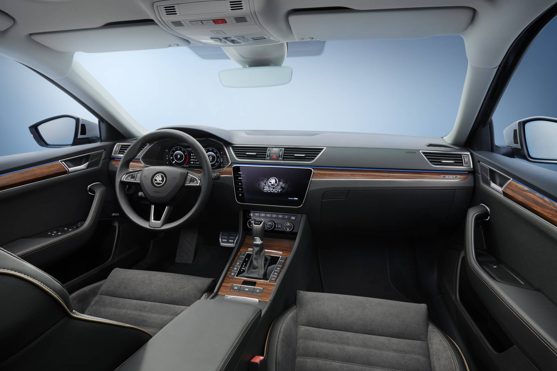 2020 skoda superb scout debuts is the anti suv with wood. Black Bedroom Furniture Sets. Home Design Ideas
