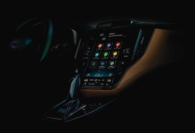 2020 Subaru Legacy Exterior Design Teaser Reveals Front ...