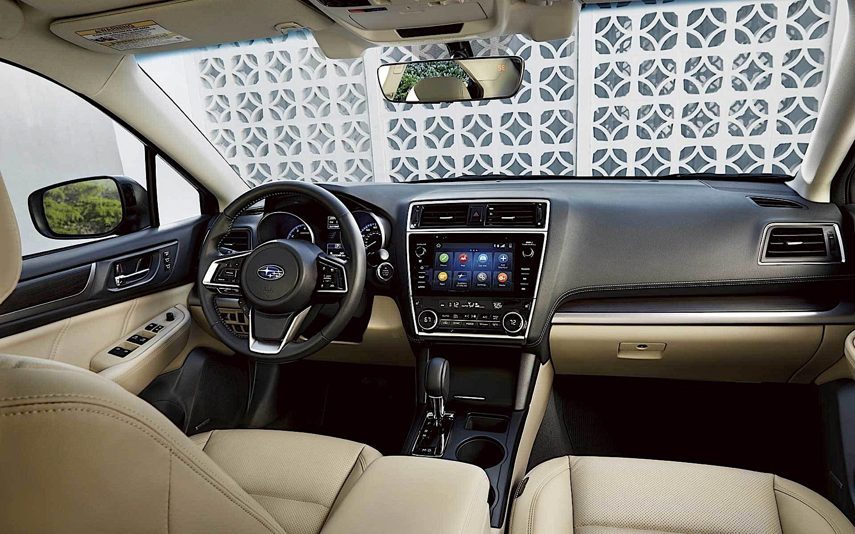 2020 Subaru Legacy Interior Photo Shows Significantly ...