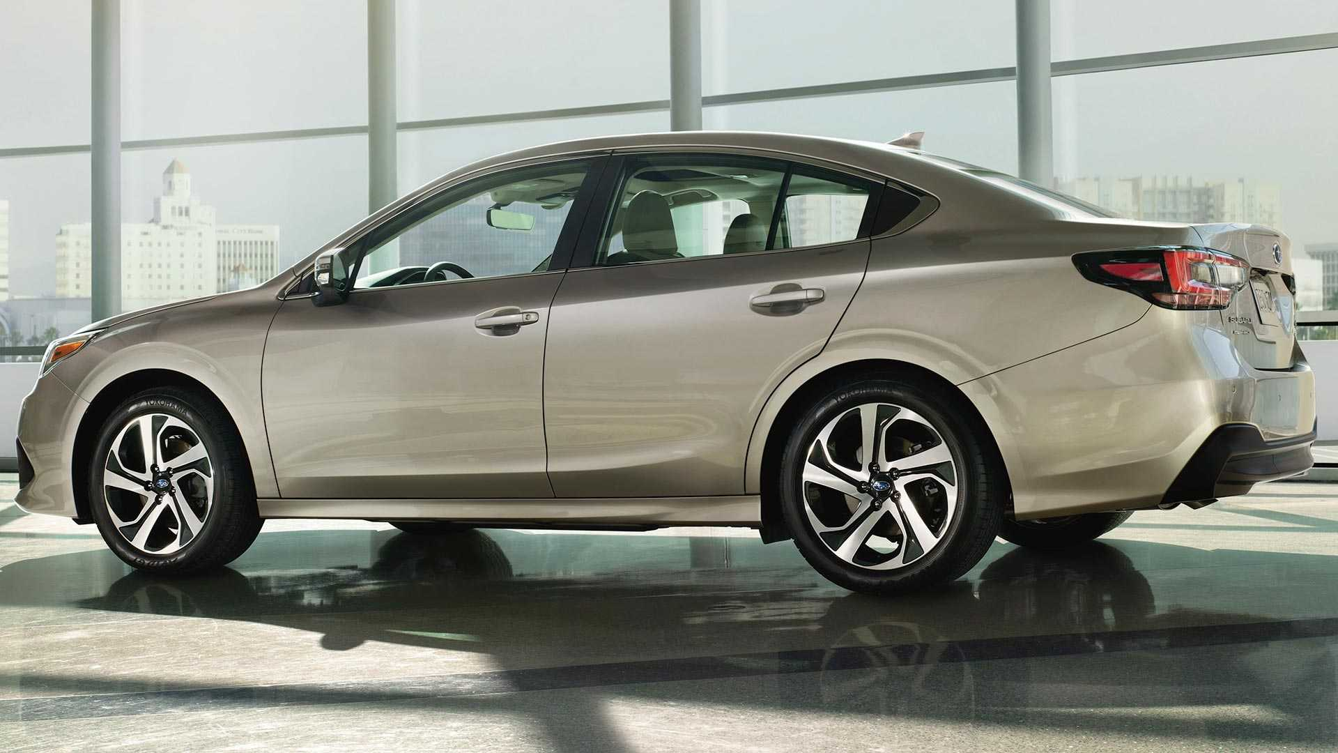 2020 Subaru Legacy Looks Predictable Features Lots More