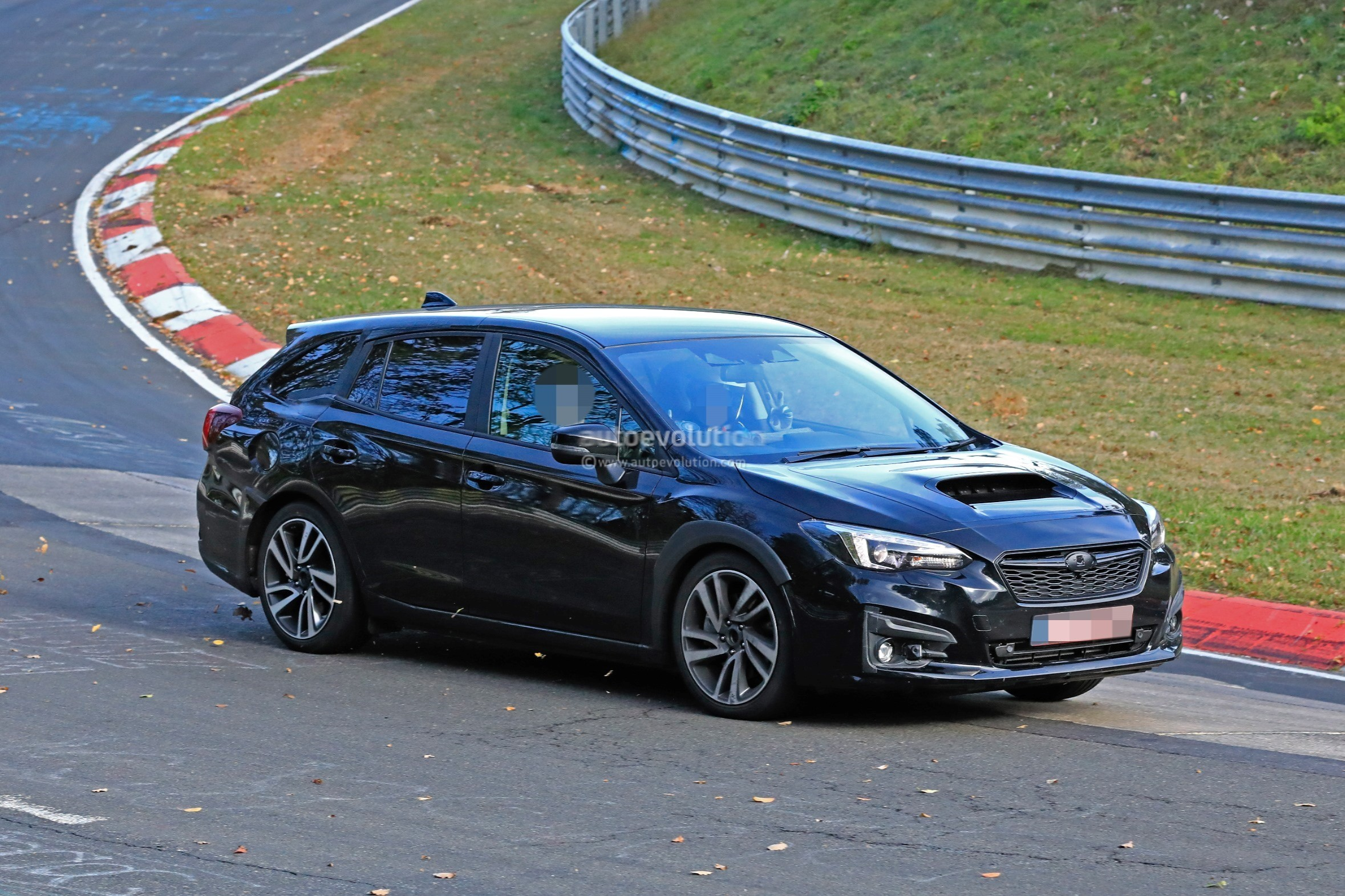 2020 Subaru Levorg Chassis Mule Spied Lapping The ...