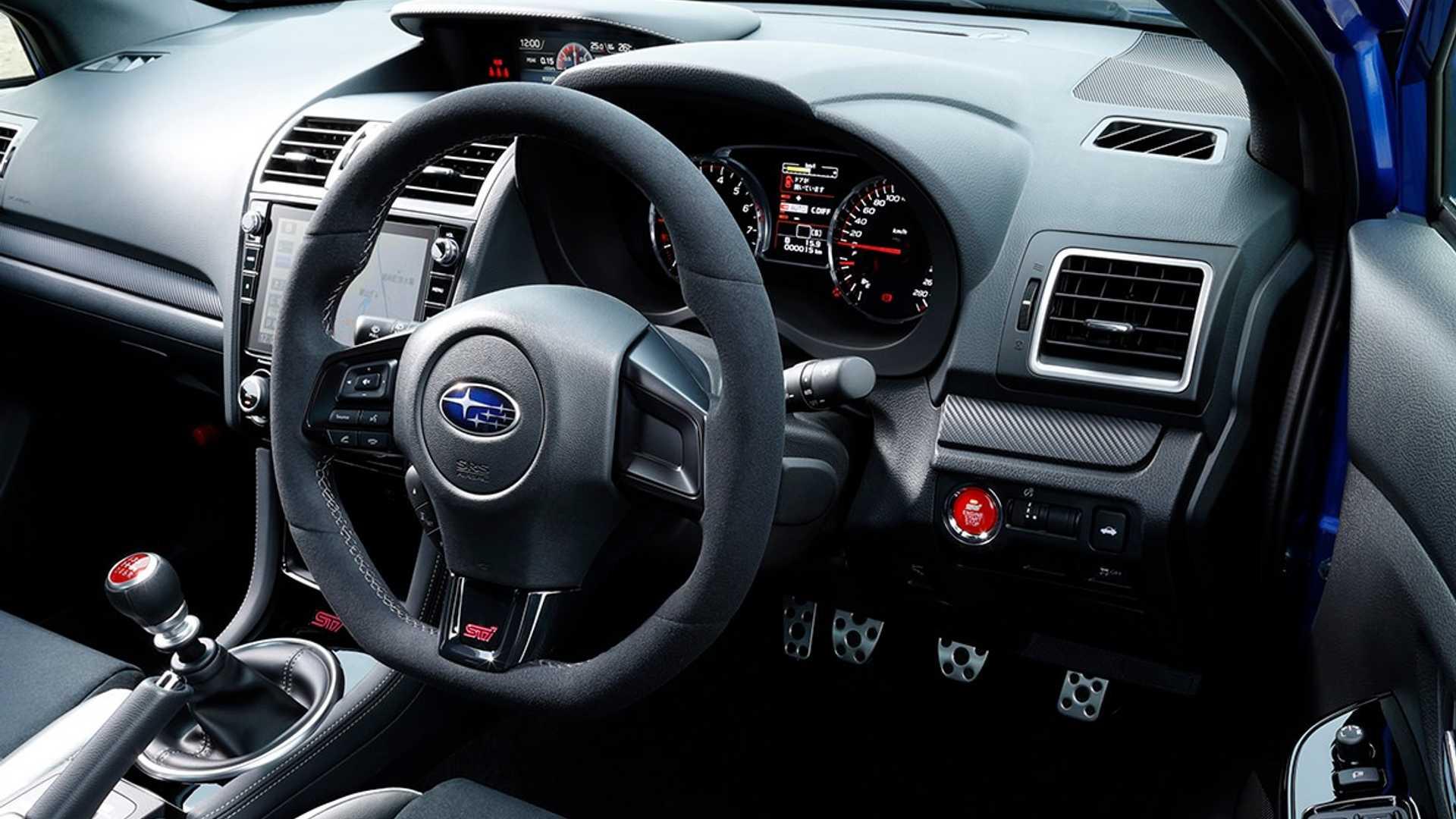 2020 Subaru Wrx Sti Says Sayonara To Ej20 Engine With Japan