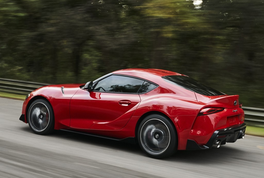 """2020 toyota supra """"plus size"""" has the widest hips"""