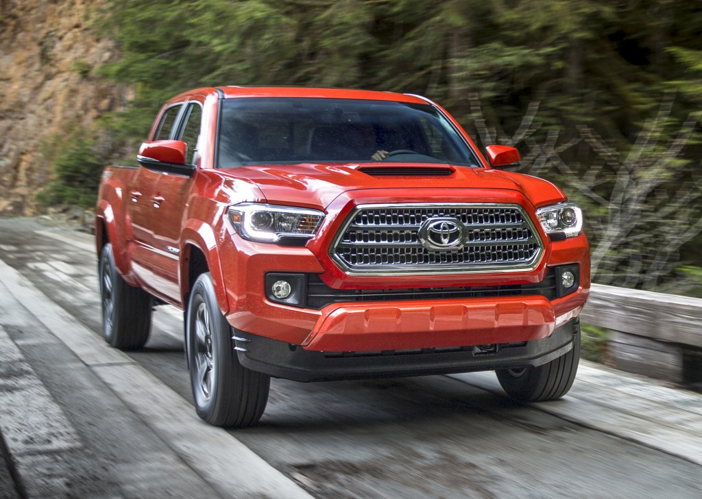 2020 Toyota Tacoma Features Redesigned Headlights, Power ...