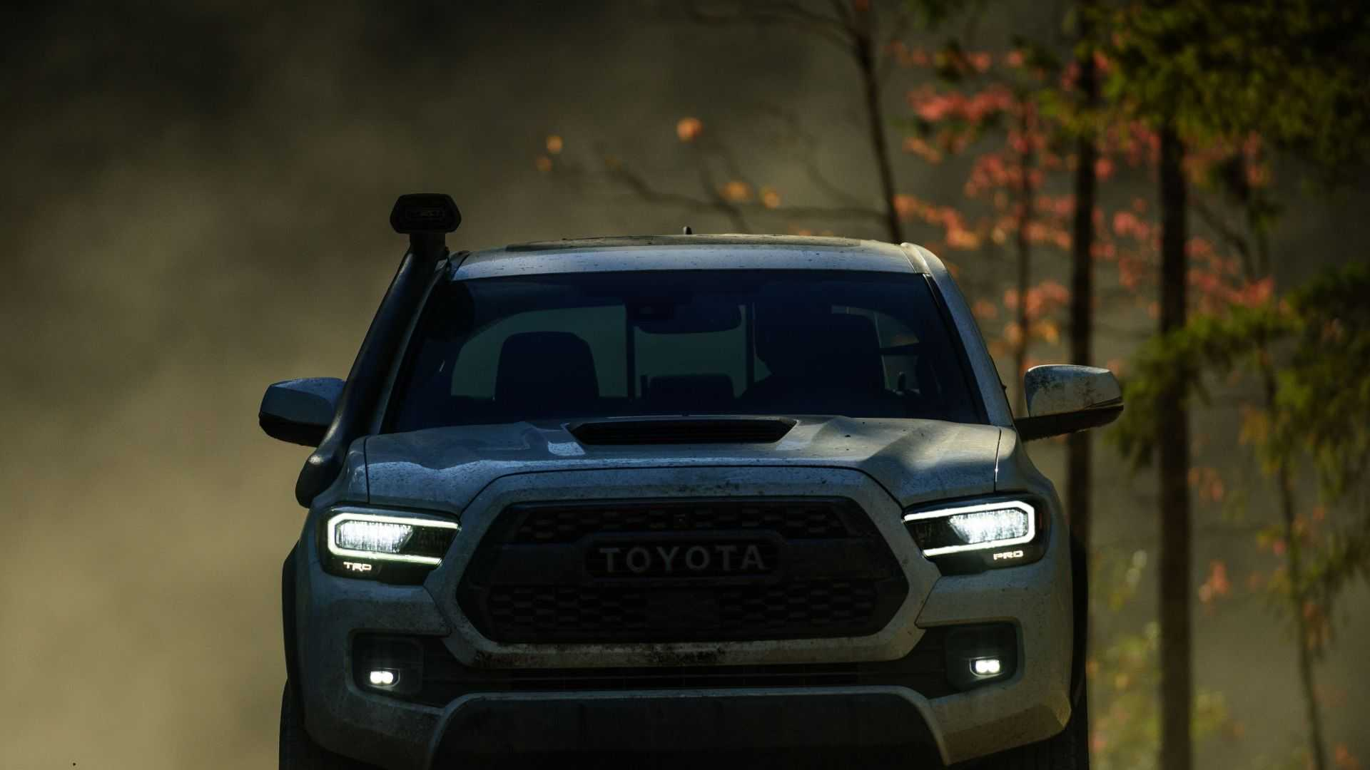 tacoma toyota trd pro road auto chicago hd tundra sequoia revealed front features lineup exterior autoevolution led wheels comments terrain