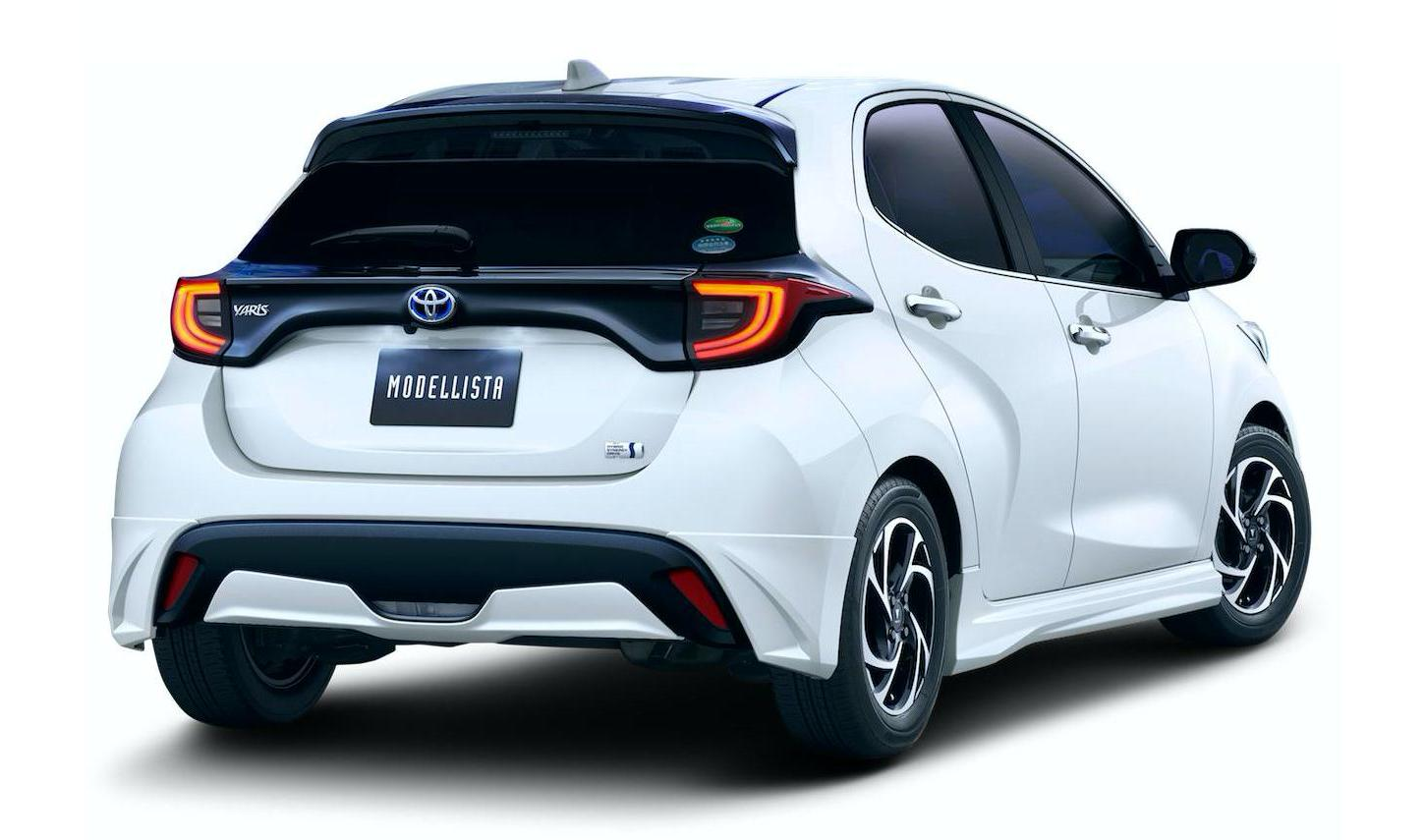 Tacoma Trd Sport >> 2020 Toyota Yaris Gets TRD and Modellista Body Kits in ...