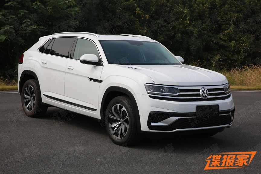 2020 Volkswagen Atlas Cross Sport Spied Uncamouflaged In ...