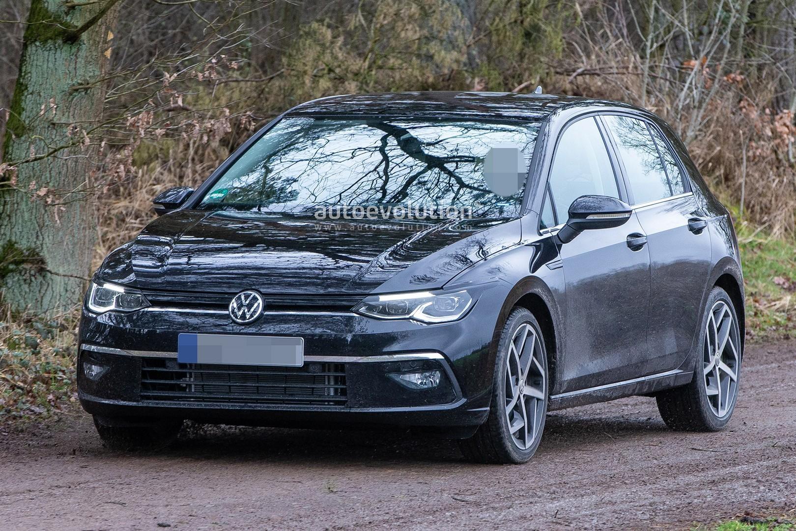 2020 Volkswagen Golf 8 Spied Virtually Undisguised - autoevolution