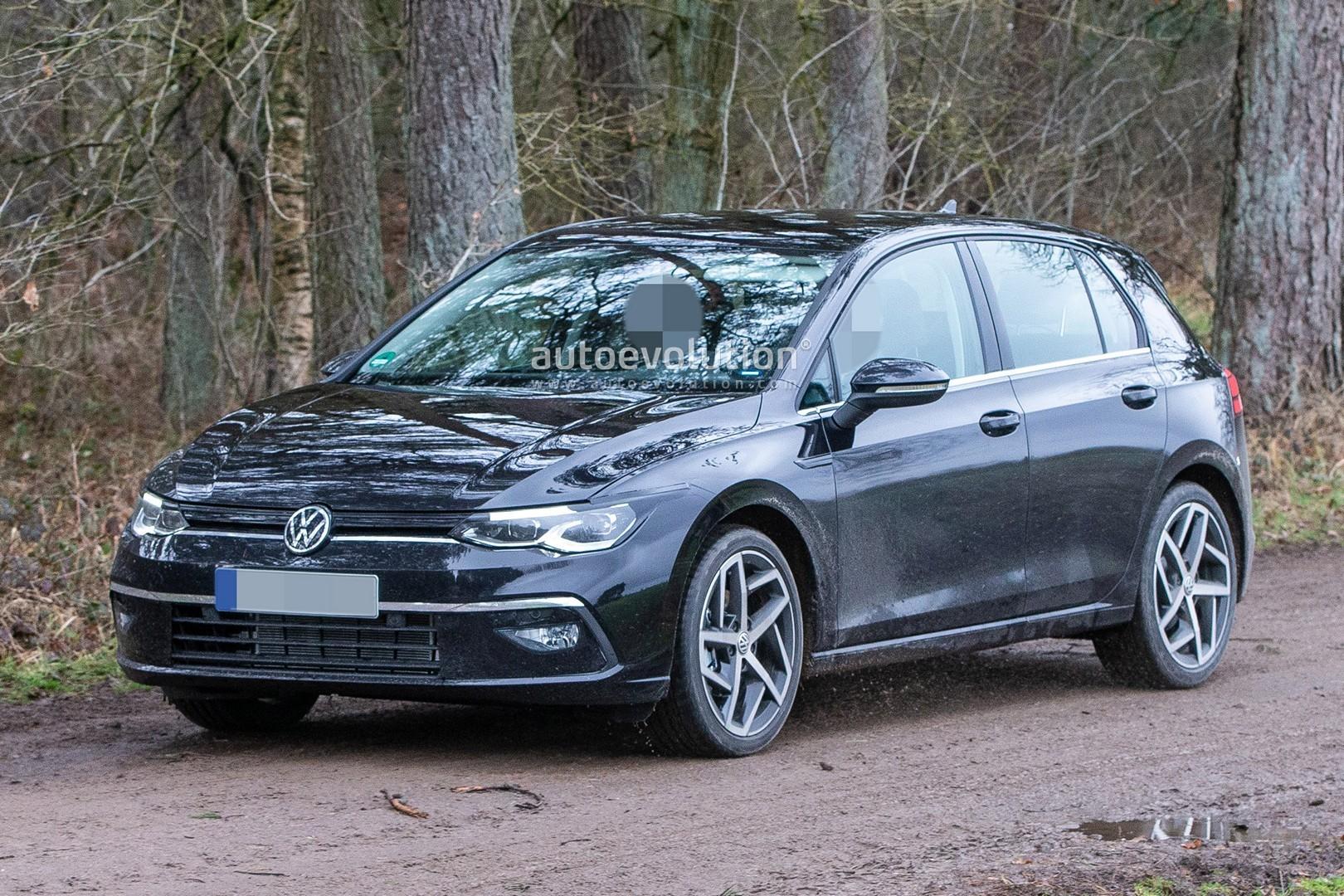 2020 Volkswagen Golf 8 Spied Virtually Undisguised ...