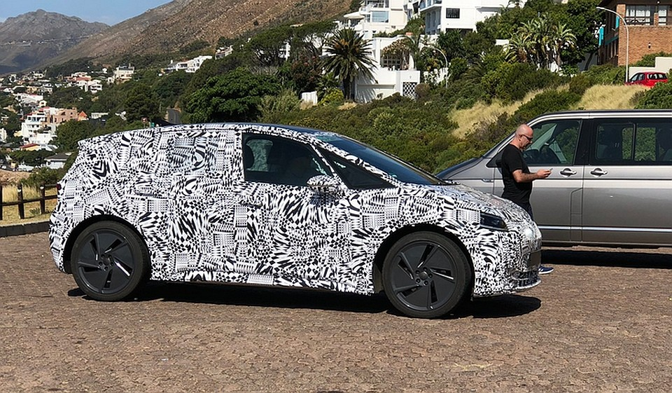 2020 Volkswagen I.D. Neo Electric Hatchback Spied In South Africa - autoevolution