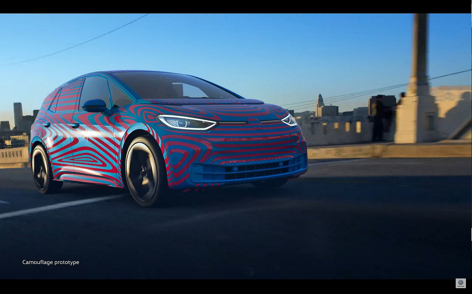 2020 Volkswagen ID.3 Teased With 550-Km Range - autoevolution