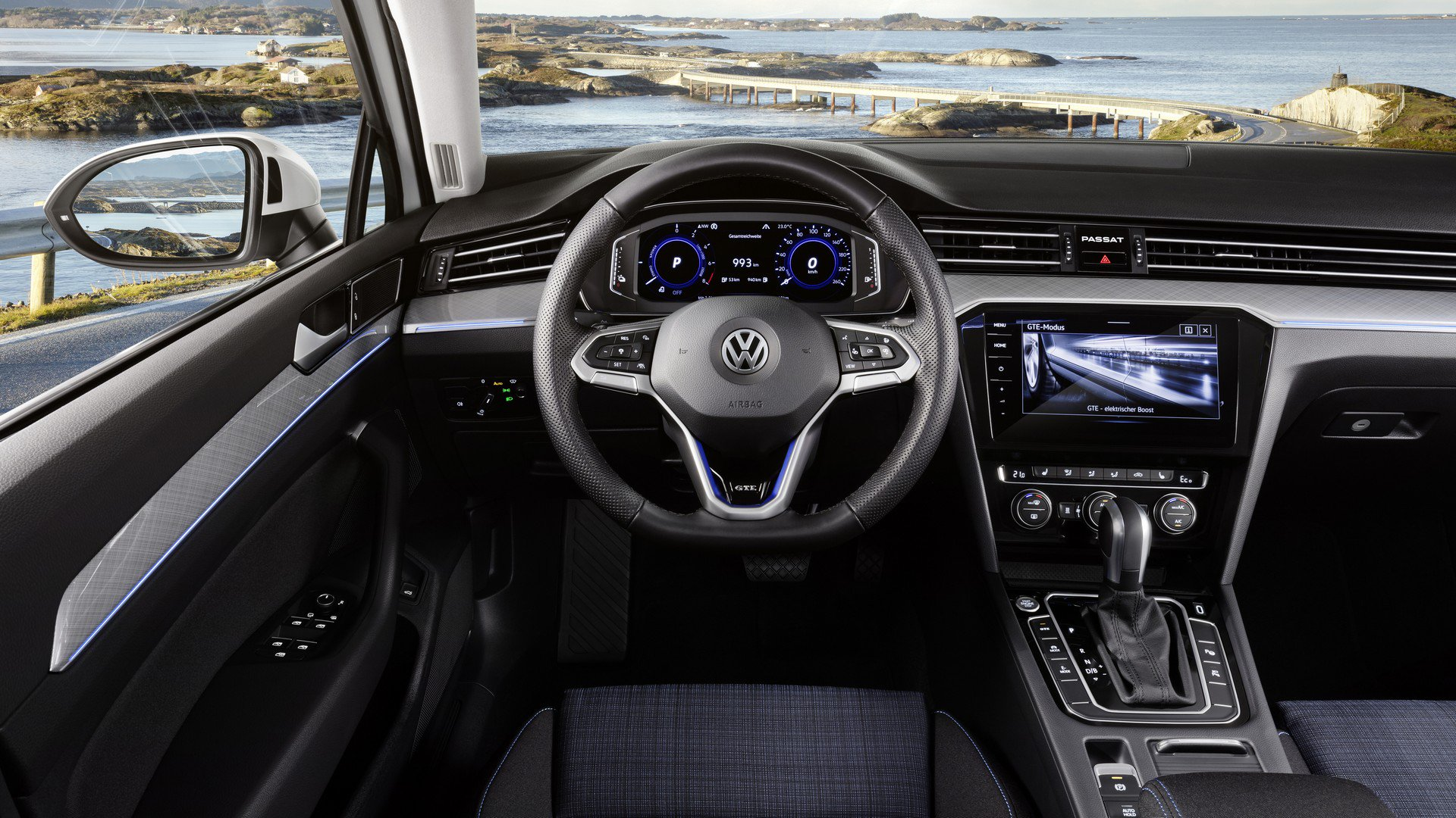 2020 Volkswagen Passat Facelift Adds Partially Automated