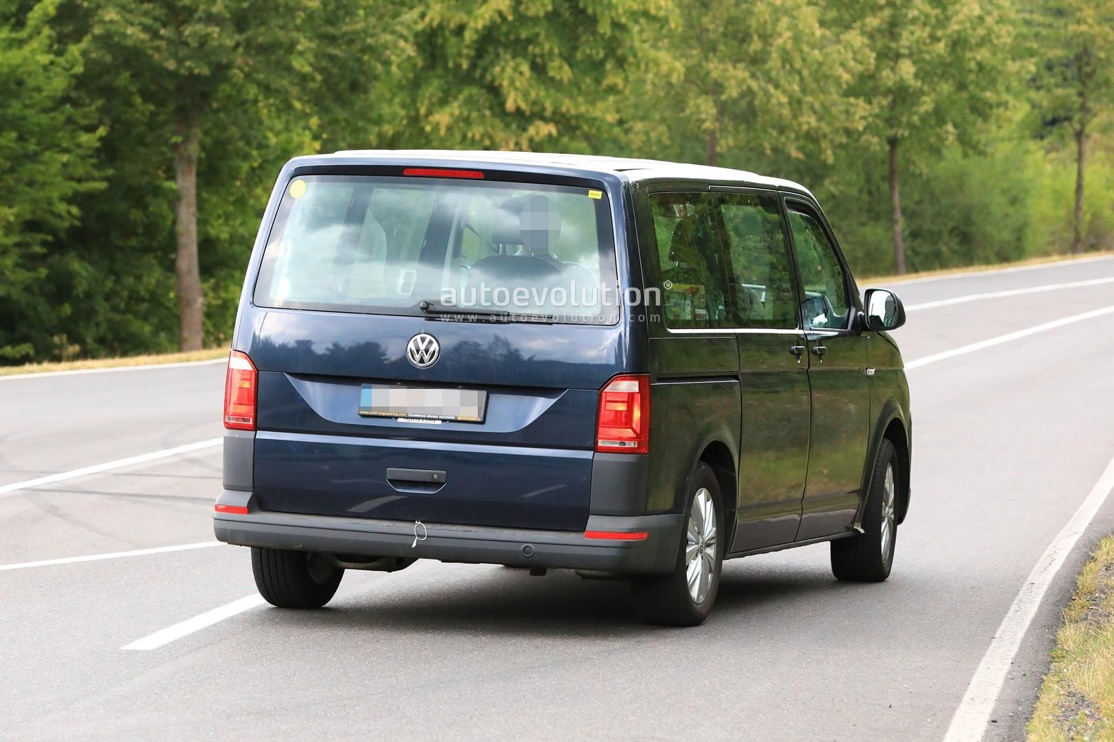 Spyshots: 2020 Volkswagen T7 Mule Might Be a Plug-in ...