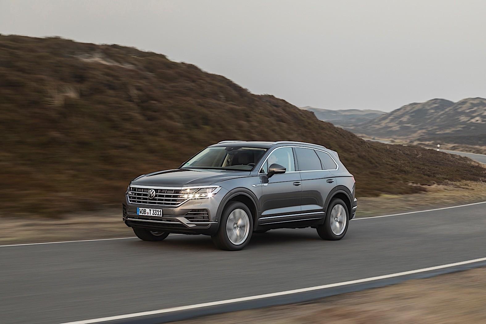 2020 Volkswagen Touareg Gets Top of the Range V8 TDI ...