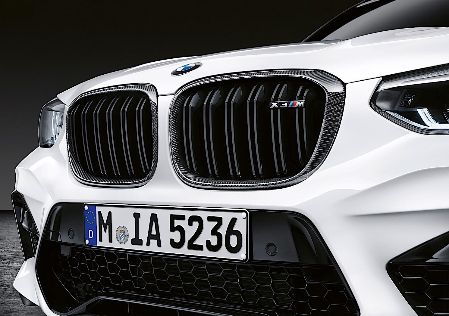 BMW X3 M & X4 M get M Performance Parts