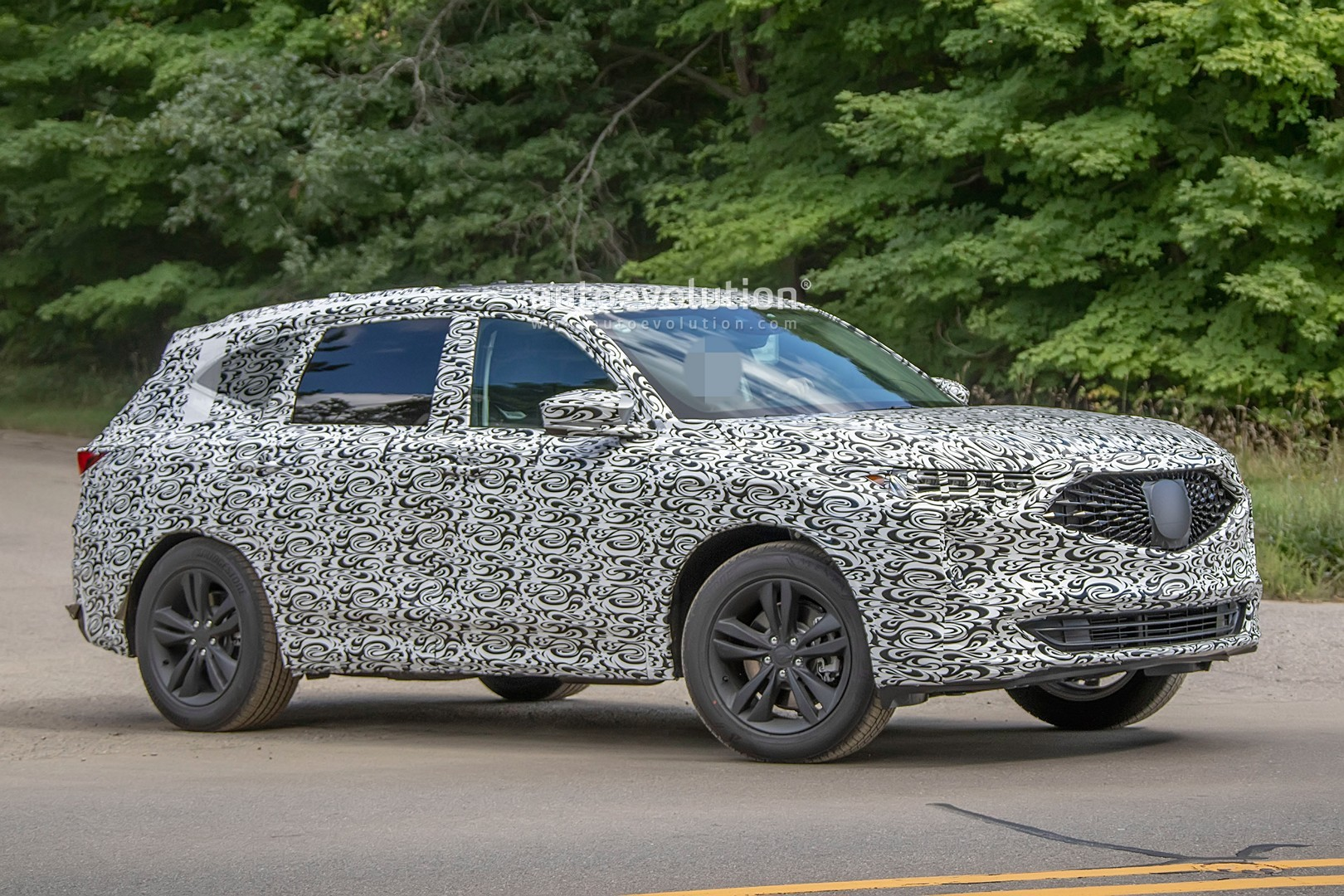 2021 Acura MDX Shows Sharp Styling in Latest Spyshots ...