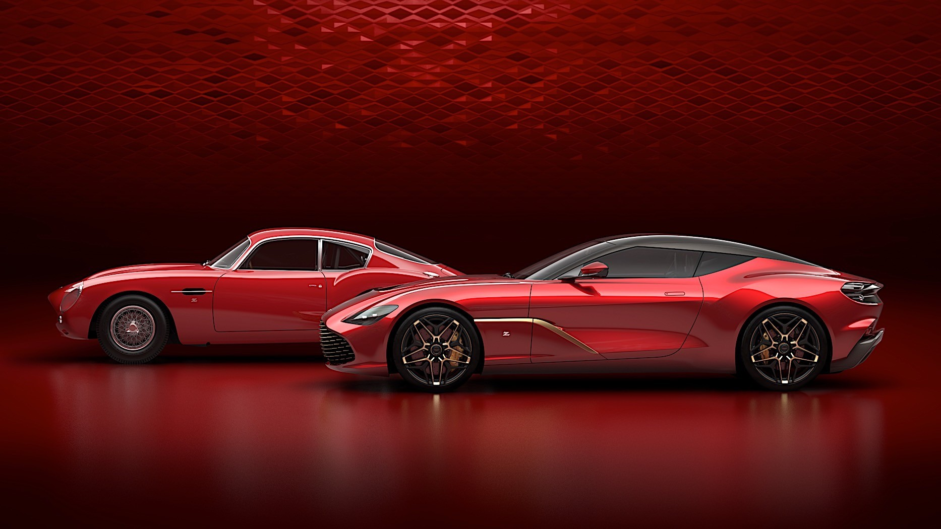 Aston Martin DBS GT Zagato Revealed with Shapeshifting Front Grille