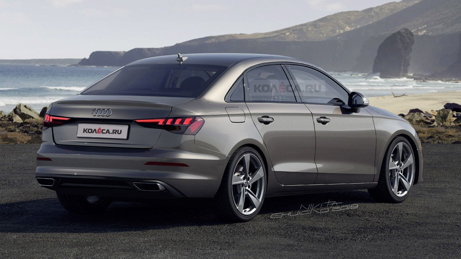 2021 Audi A3 Sedan Rendering Reveals Normal Compact Car ...