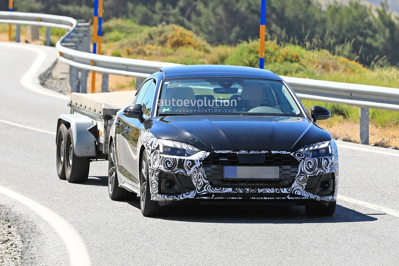 audi a5 sportback gets aggressive body kit from wald
