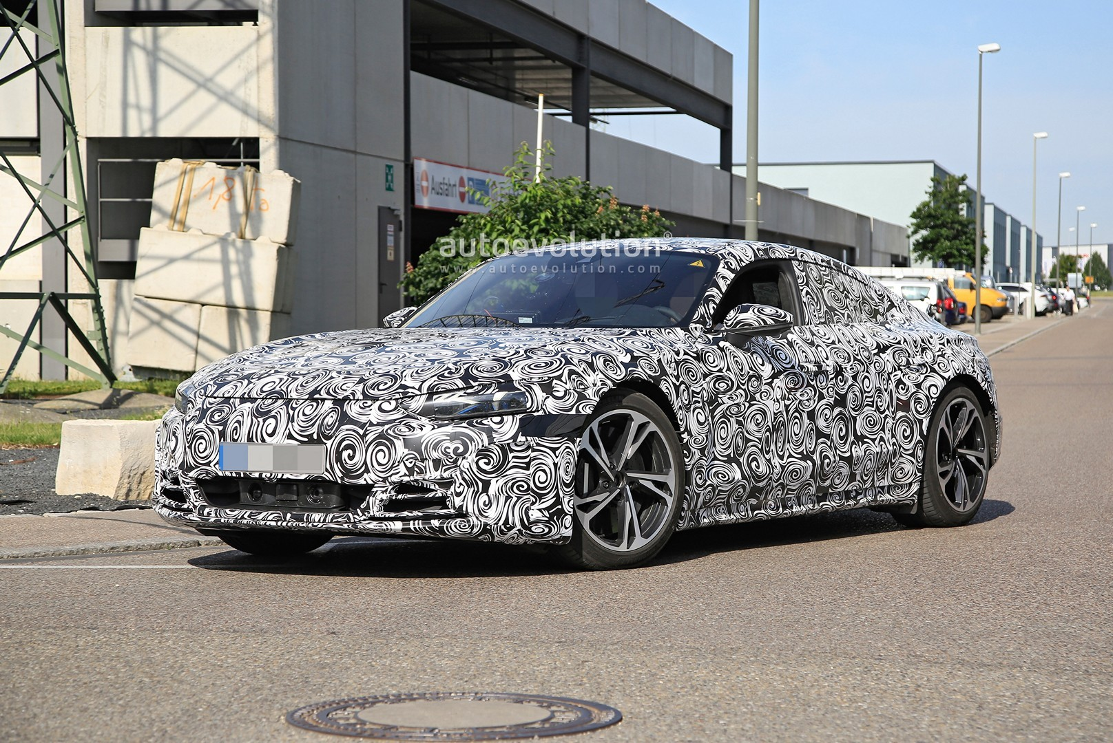 2021 audi etron gt spotted 100000 ev getting ready for