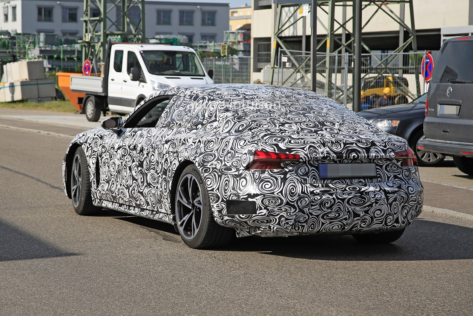 2021 audi e-tron gt spotted, $100,000 ev getting ready for