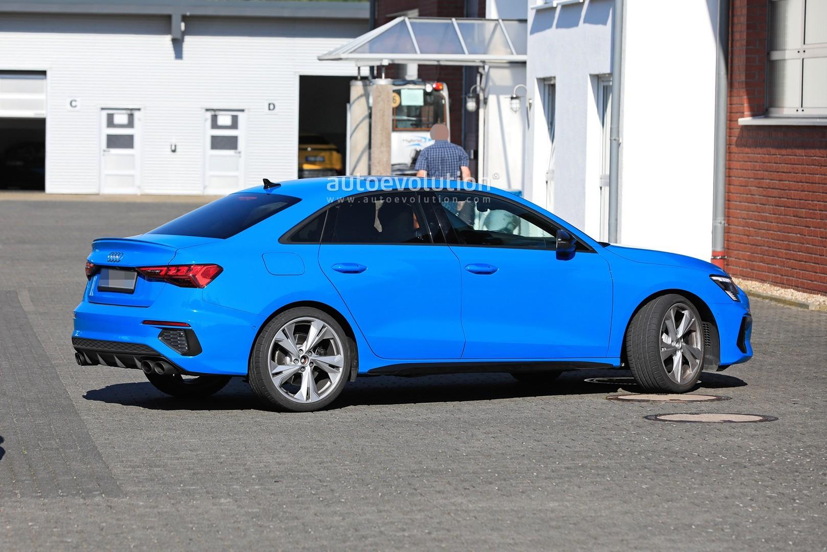 Manual Audi S3 Sedan Is Faster than 2015 Subaru WRX STI ...