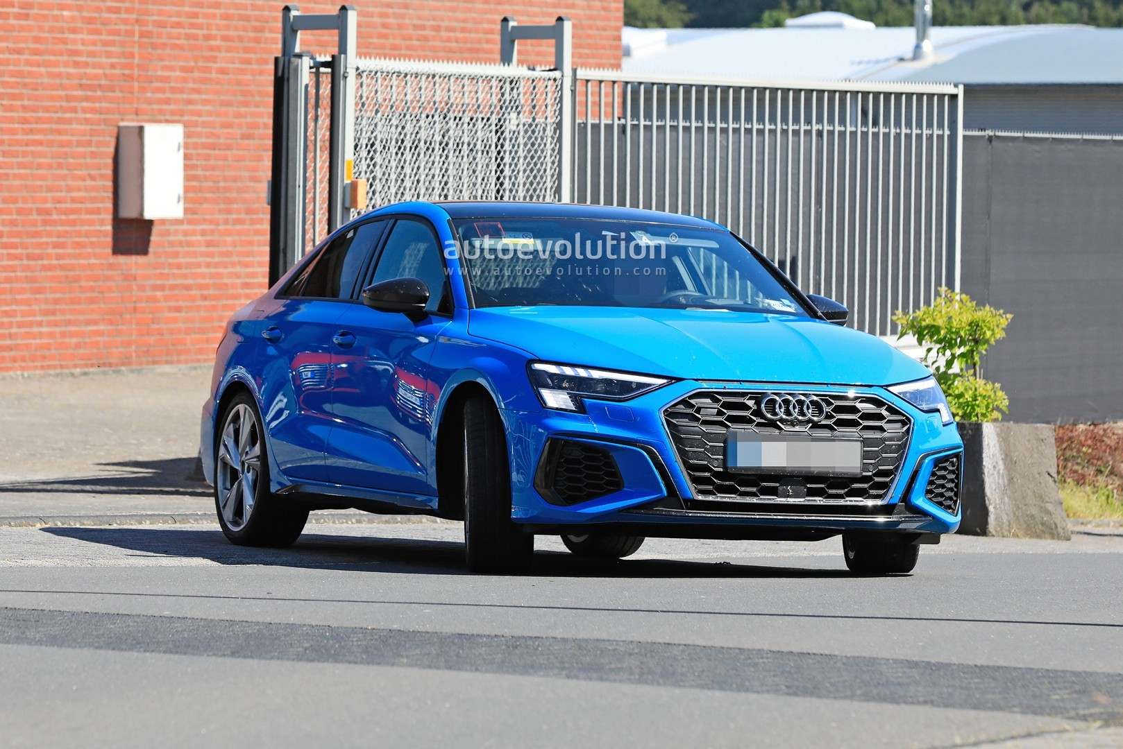 2021 Audi S3 Rocks Blue Paint And Quad Exhaust Ahead Of Debut Autoevolution