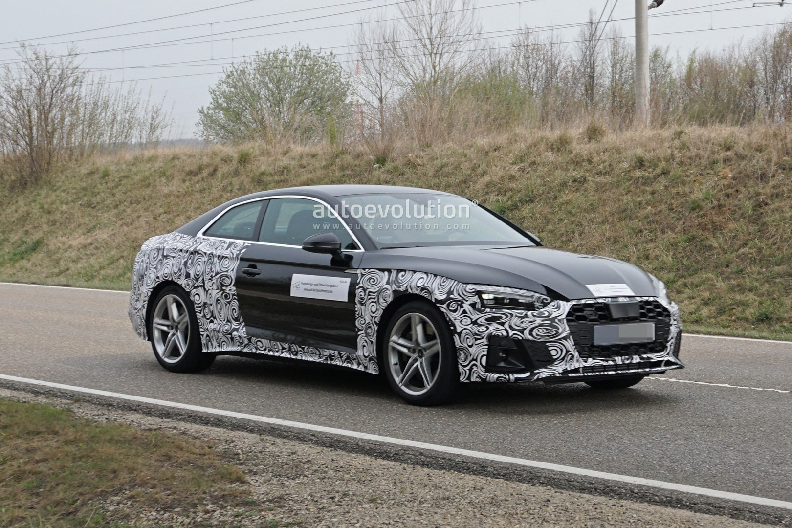 2021 audi s5 coupe facelift spied should get 30 tdi